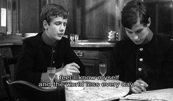 'Young Törless', 1966. Directed by Volker Schlöndorff.