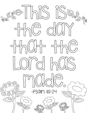 Set Of 20 Free Printable Bible Verse Coloring Pages