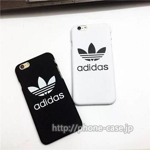 91436cafa2 Adidas iPhone7/SE/6S ケース お揃い ペア アップル 人気 ハードケース アディダス アイフォン5Sケース 白 黒 メンズ  レディース