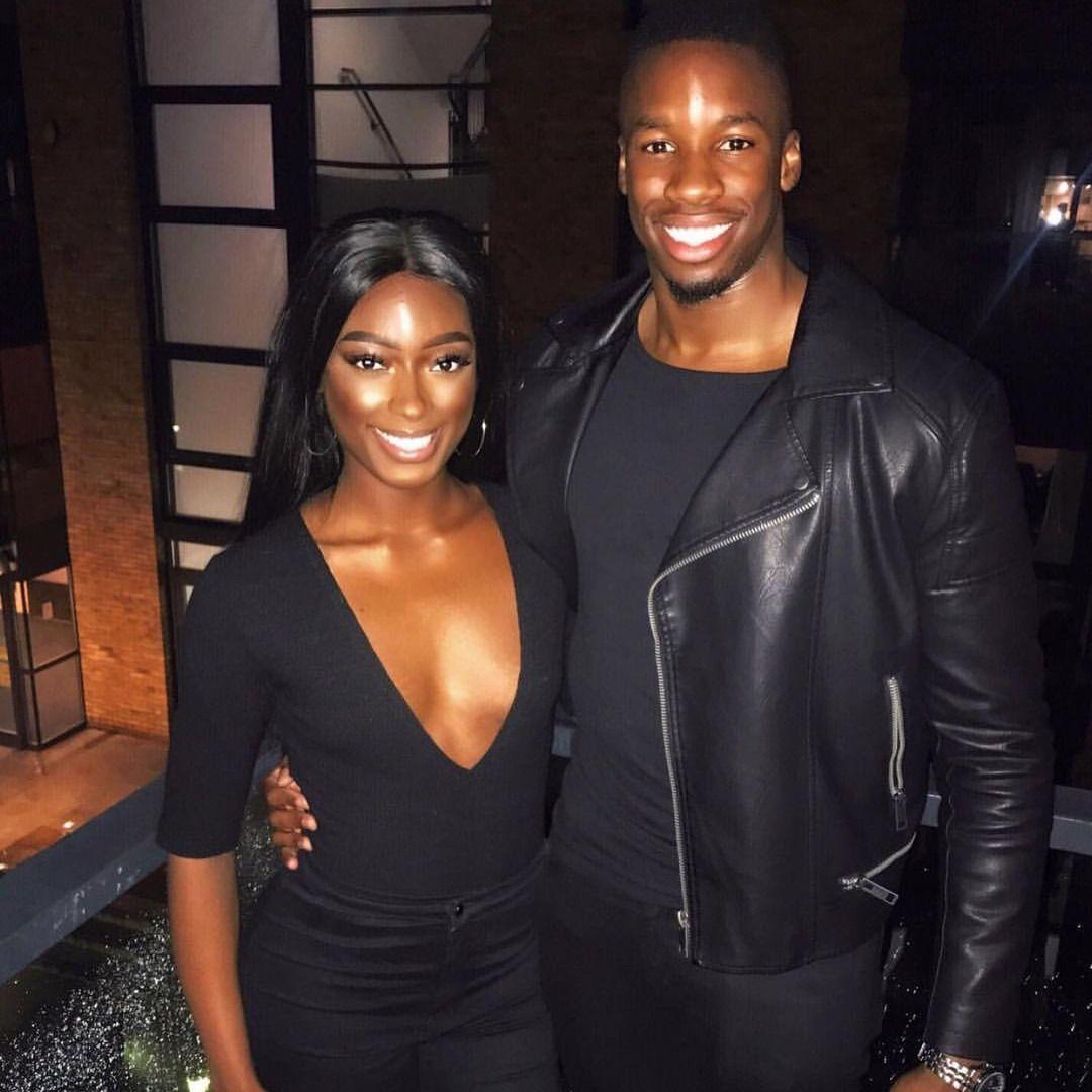 Powerful Glamorous Black Couple: Dark Skin Girls, Black Love