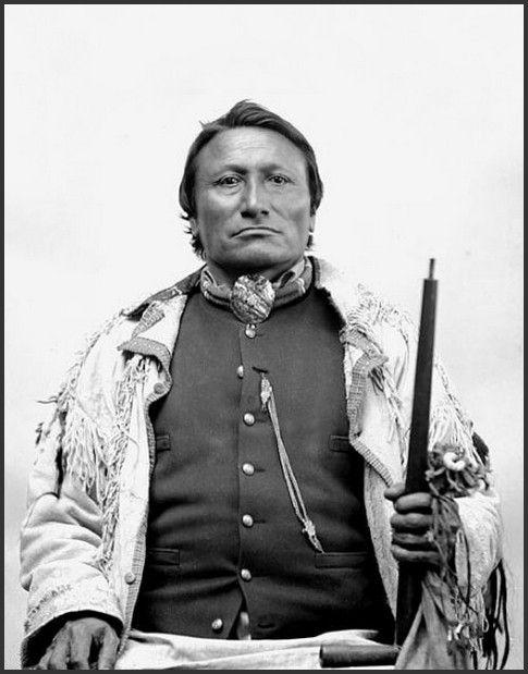 Nedjahituwit, (Lt. Otto Kobe), Arapaho. Photograph: 1894.