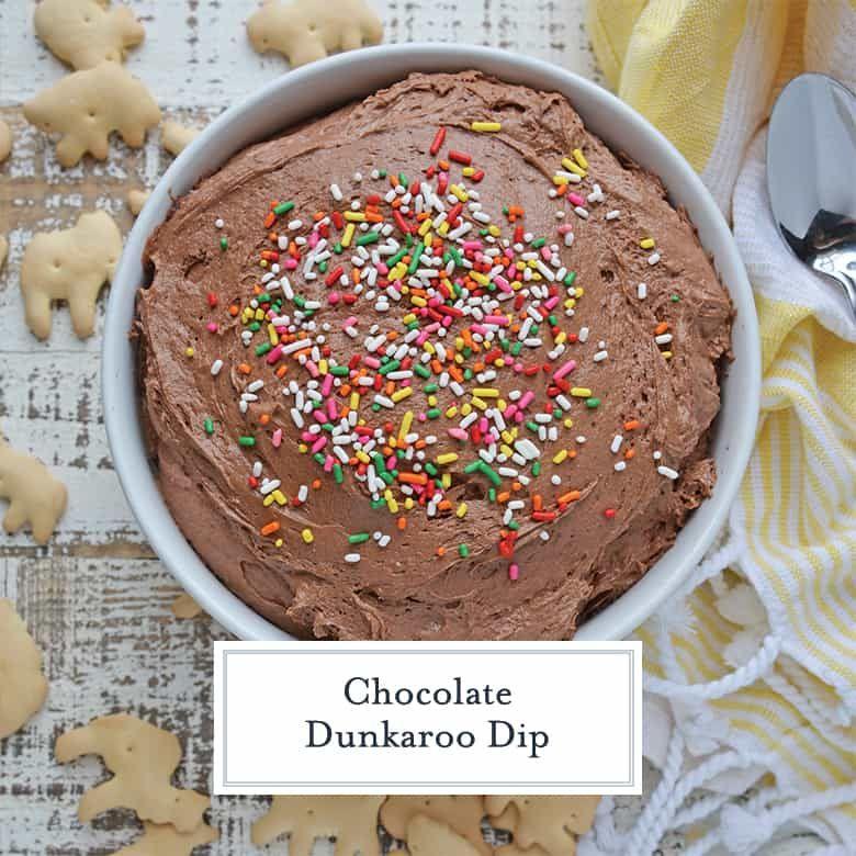 Chocolate Dunkaroo Dip - How to Make Dunkaroo Dip