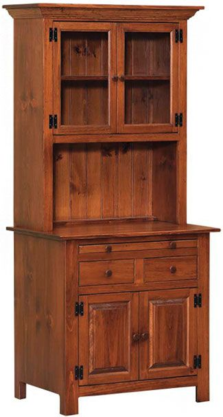 Hoosier Cabinet Amish Kitchen Cabinets, Unfinished Furniture Ct