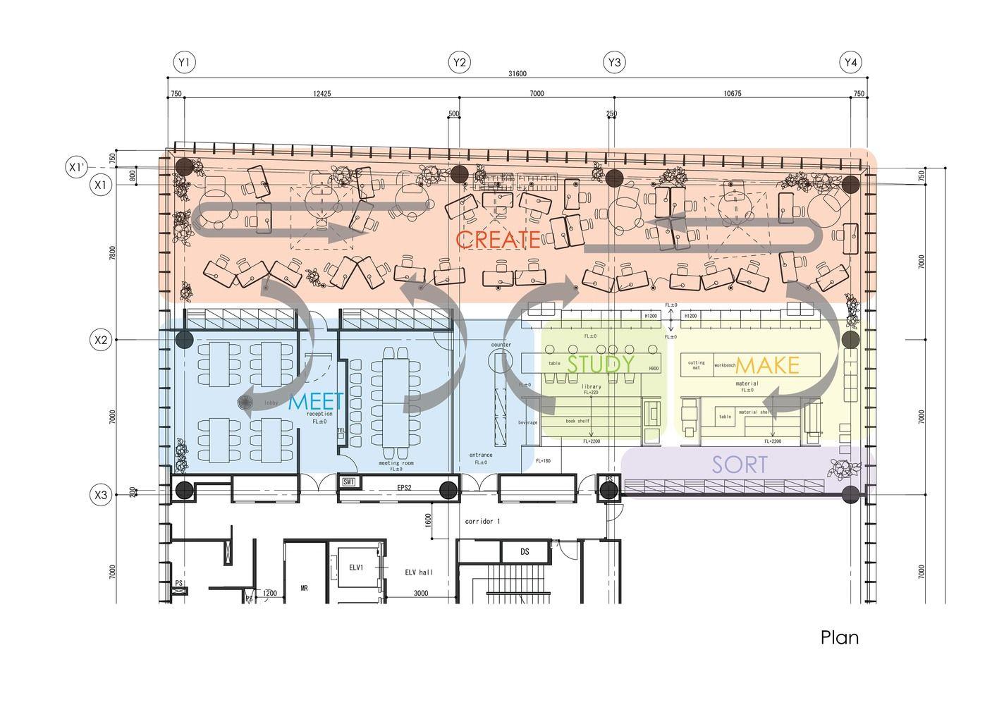 Gallery of Nikken Space Design Osaka Office / Nikken Space Design - 17