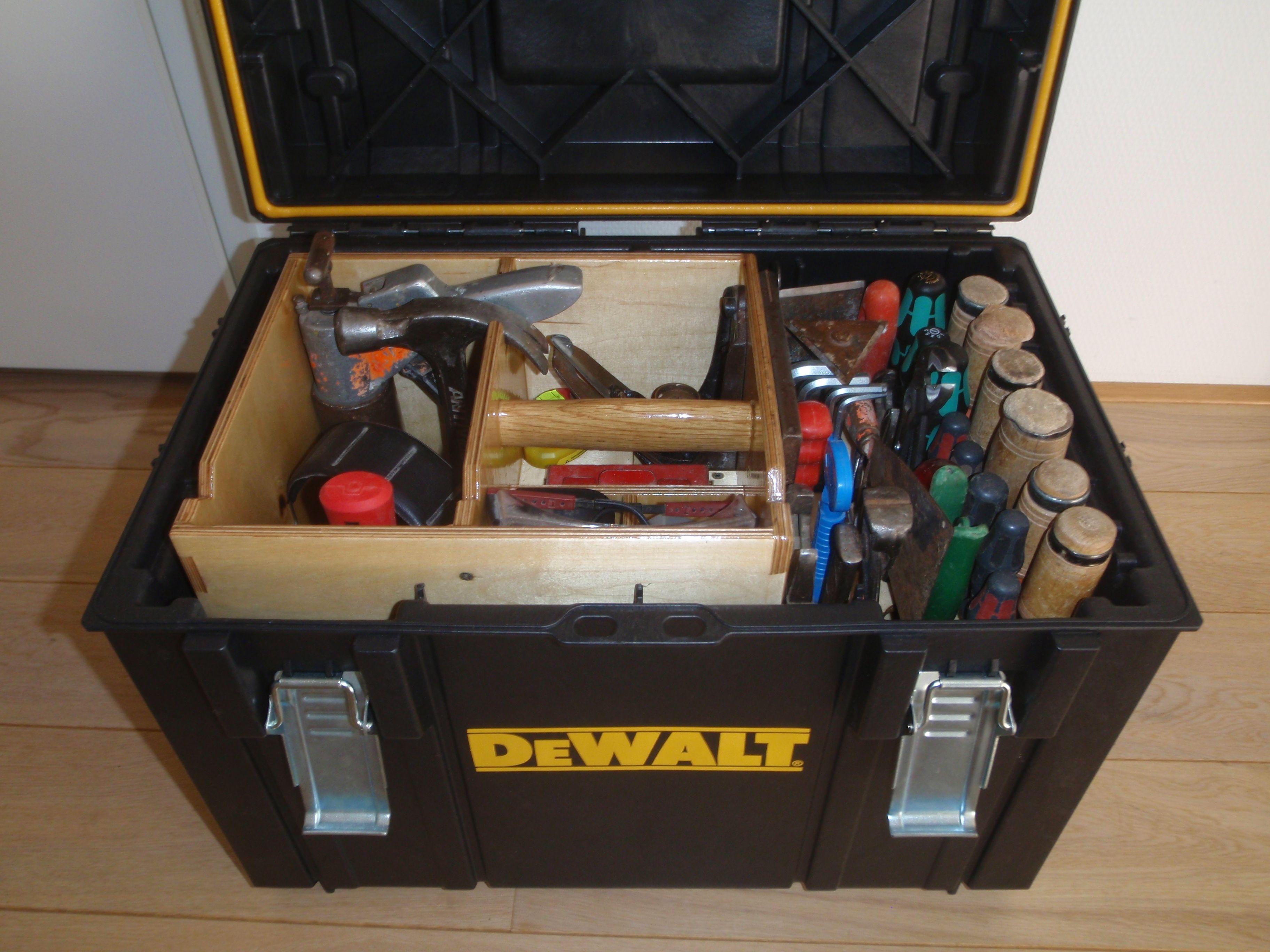 Dewalt Ds 400 Xl Case And Insert Tool Storage Diy Tool Box Storage Power Tool Storage