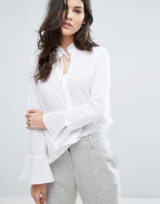 Y.A.S Lace Detail Shirt