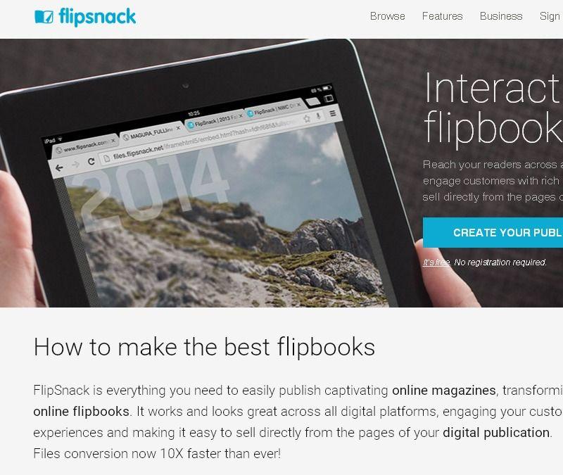 PDF To Flash Page Flip - Flipbook Software