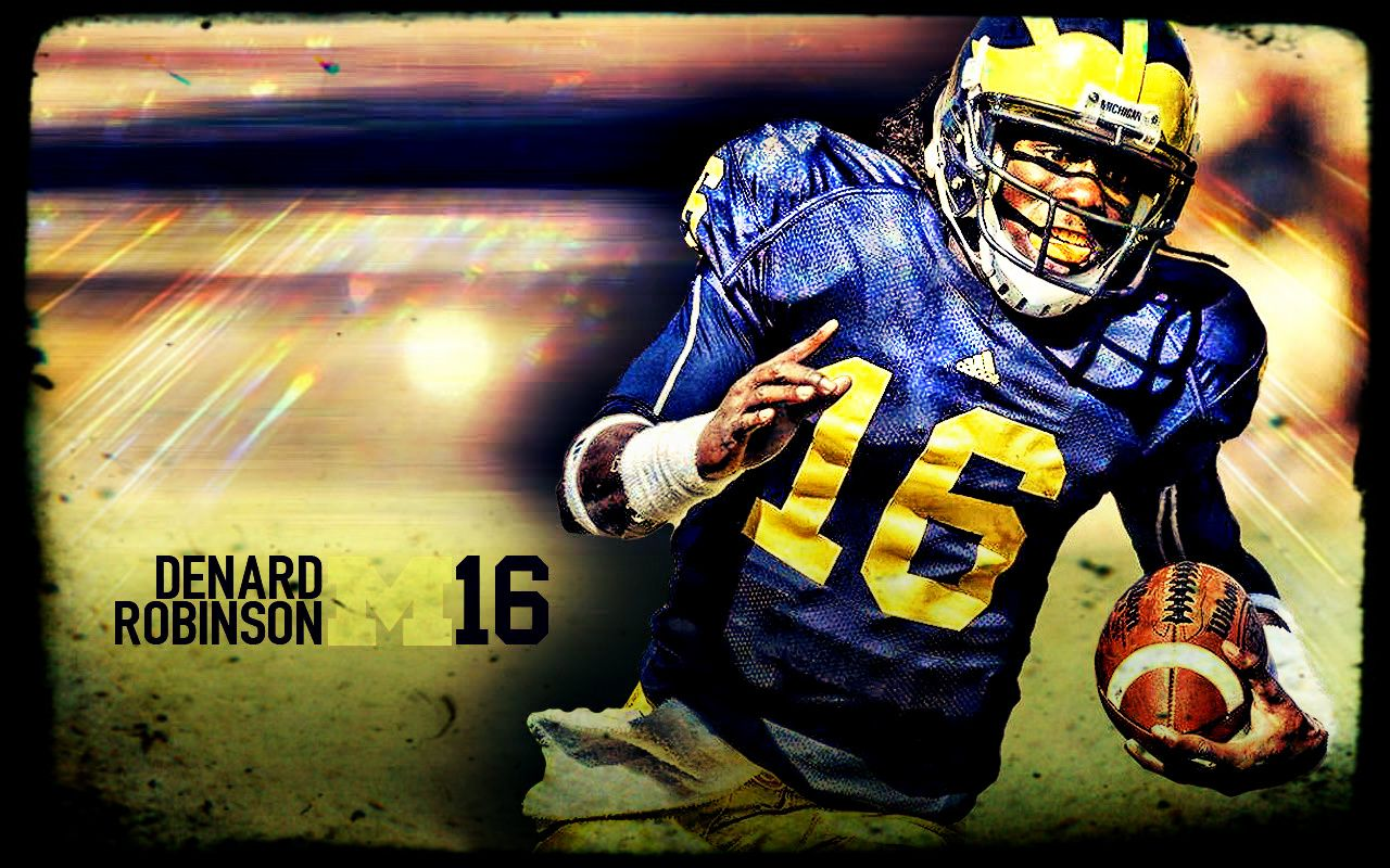 The Electrifying Denard Robinson (With images) Michigan