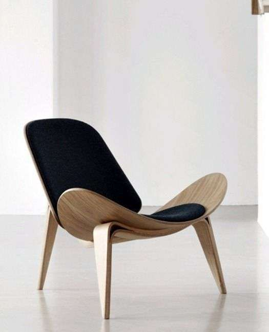 Mid Century Lounge Sessel The Shell Chair (ch07) Was Designed By Hans J. Wegner In