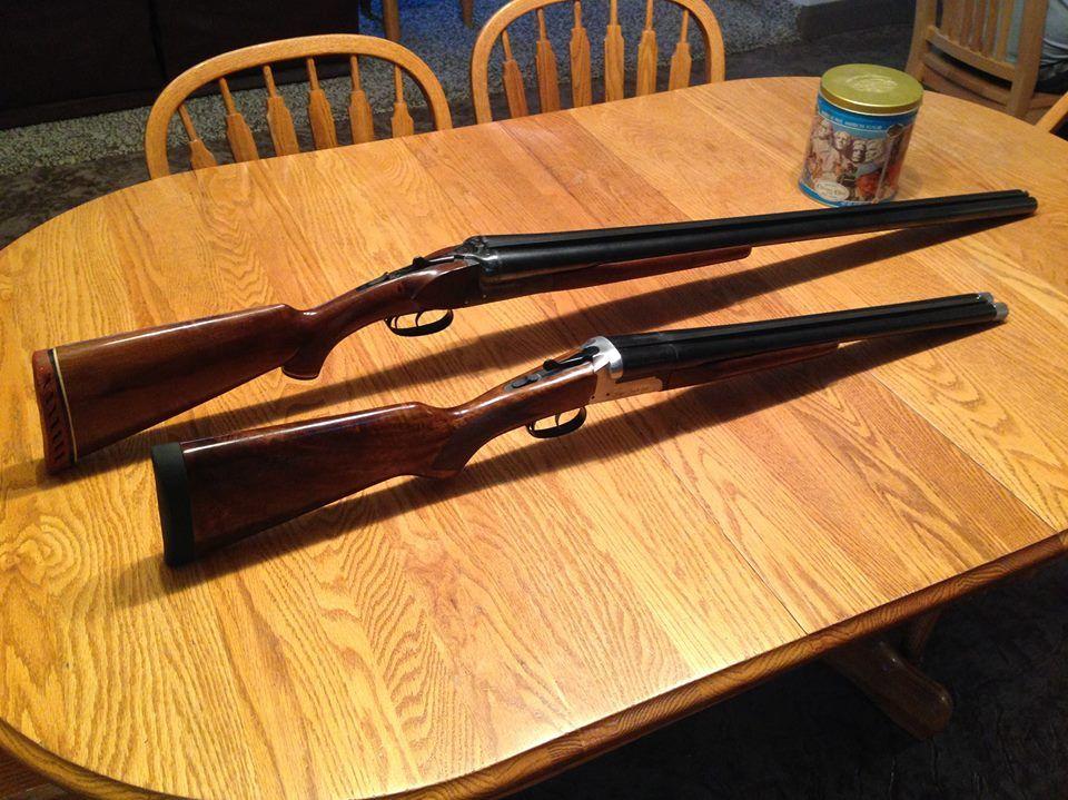 Zabala 10 gauge shotgun and Stoeger Coach Gun Supreme 12