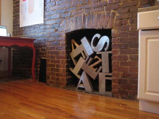 Solution to non working fireplaces love can 39 t use your - Non working fireplace ideas ...