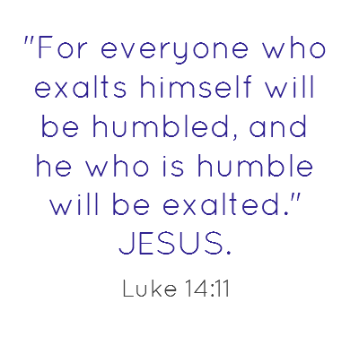 Humility or humbleness is the quality of being modest or respectful which is included in A Significant Lesson in Humility Given by Jesus in Chapter 14 of the Gospel According to Luke.  http://socialmediabar.com/a-significant-lesson-in-humility-given-by-jesus