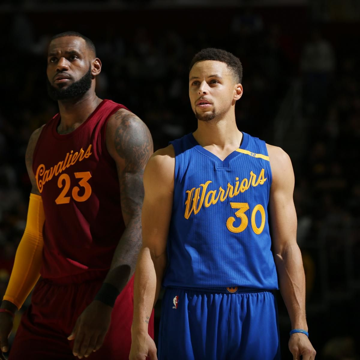 Cavaliers Vs Warriors 2017 Nba Finals Opening Odds Revealed Lebron James Stephen Curry Nba Uniforms