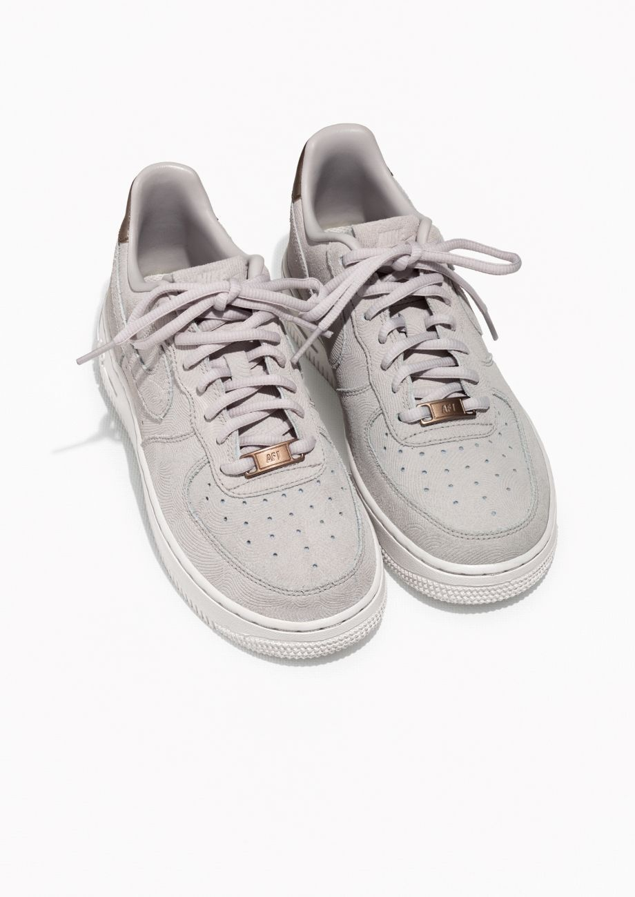 Nike W Air Force 1 '07 Se Prm (Beige) Sneakers Dam