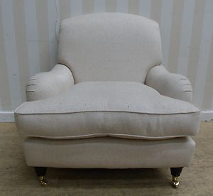 Laura Ashley Richmond Natural Fabric Armchair Ebay Fabric