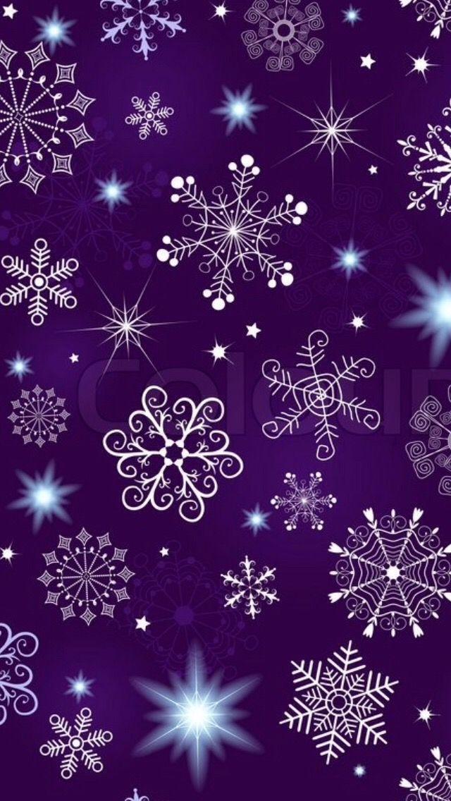 Purple snowflakes wallpaper christmas wallpaper - Purple christmas desktop wallpaper ...