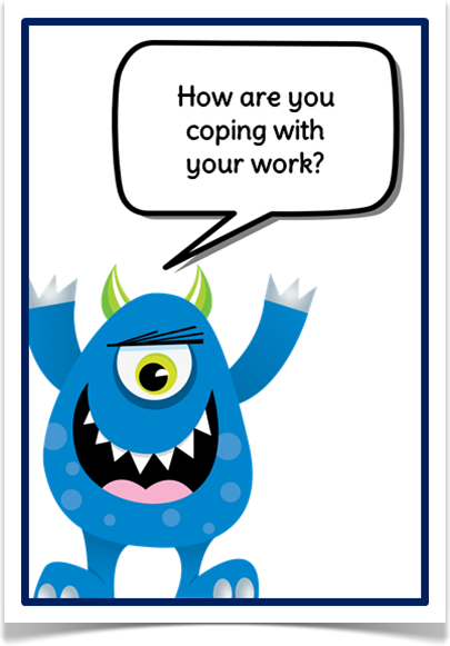 Self Assessment Monsters - Treetop Displays - EYFS, KS1, KS2 classroom display and primary teaching aid resource