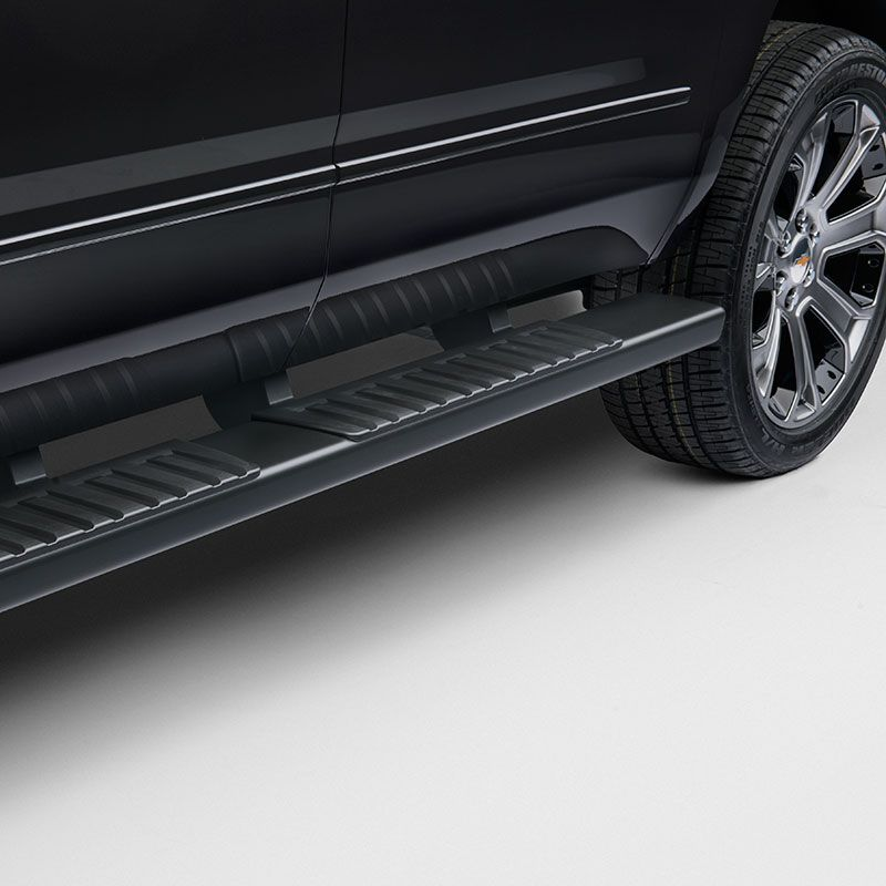 2015 Tahoe Assist Steps  Black   Chevrolet Tahoe   Pinterest   Yukon     Simply remove the factory running boards and replace them with these Black  Upgraded Assist Steps
