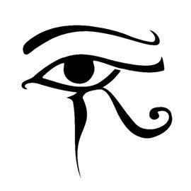 Egyptian eye of horus stencil silhouette pinterest tatouages id e tatouage et id es de - Tatouage oeil d horus ...
