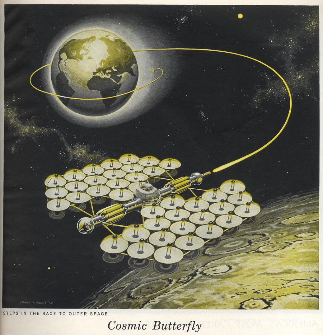 Cosmic Butterfly - Frank Tinsley, March 1959