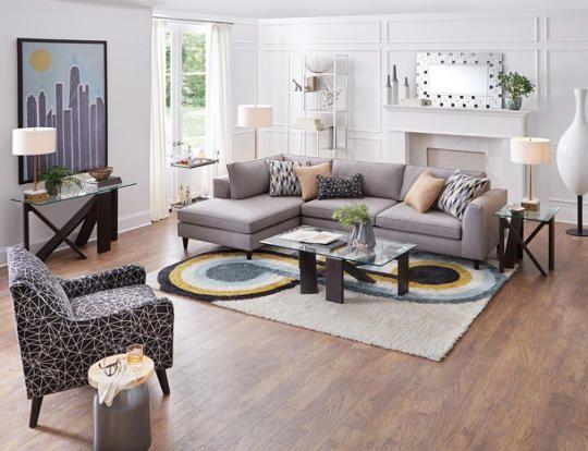2 Piece Sectional Art Van Furniture Furniture Living Room Furniture Room