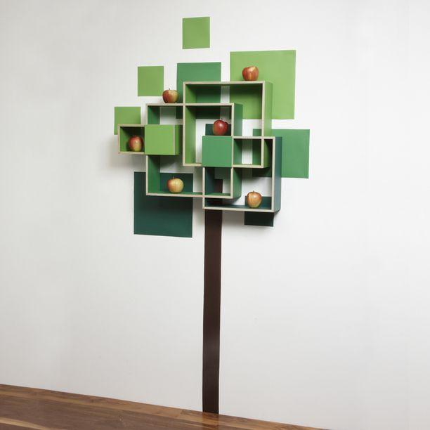 Tree Shelf Wall Art design inspiration on Fab. Tree