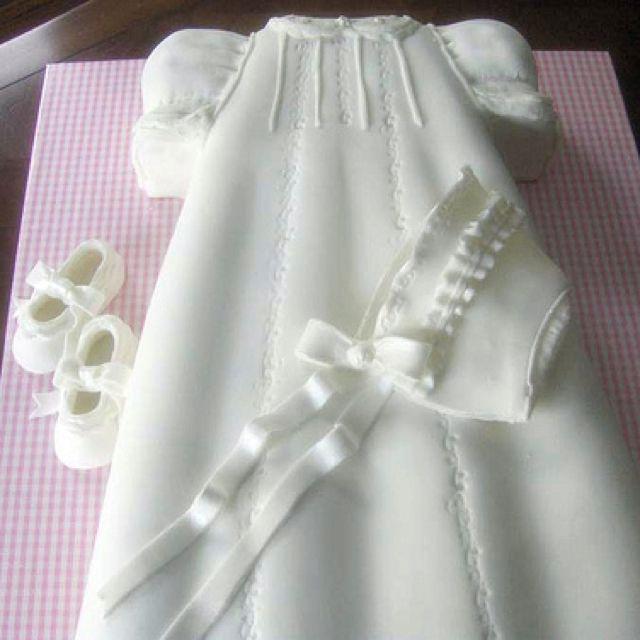 Baptism cake ... the bonnet!                                                                                                                                                                                 More