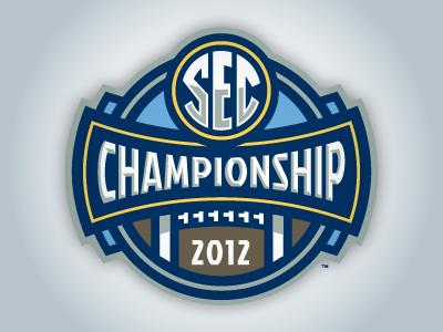2012 Sec Championship Sports Logo Design Logo Design Branding Design Logo