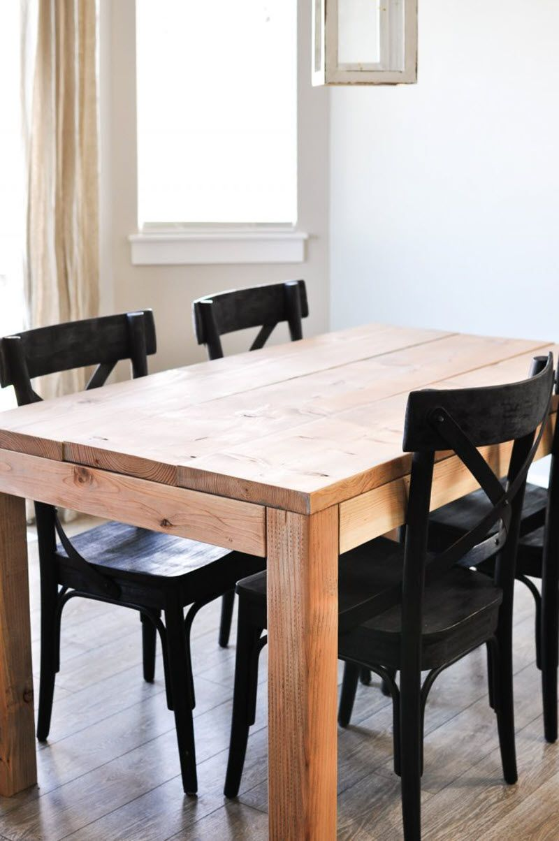 20 Gorgeous Diy Dining Table Ideas And Plans With Images Diy
