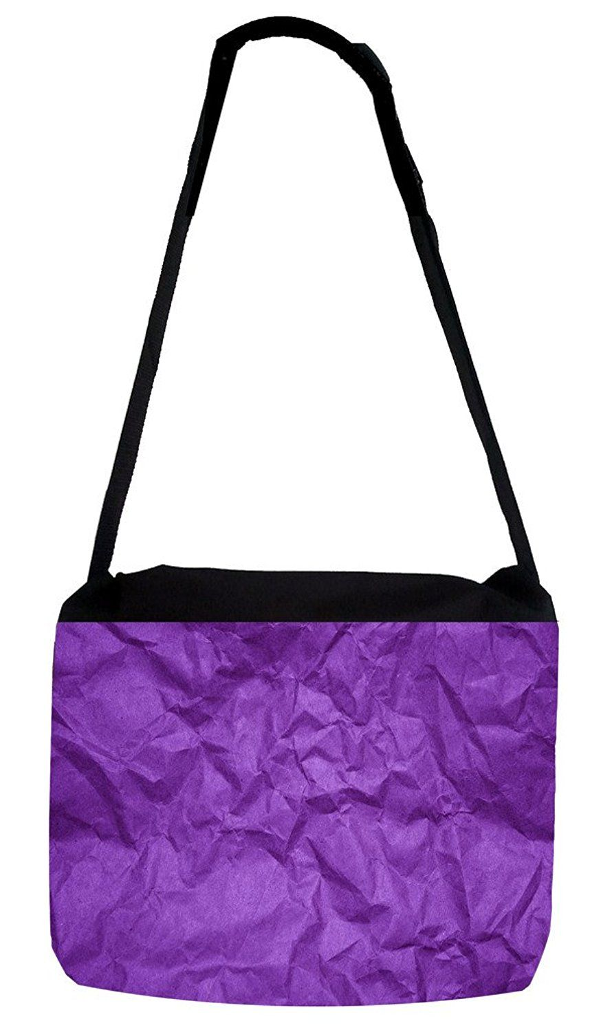 Rosie Parker Inc. TM Medium Sized Messenger Bag 11.75  x 15.5  - Purple  Crinkle Paper PRINT Design   Want additional info  Click on the image. 07ebe21ee9ca7