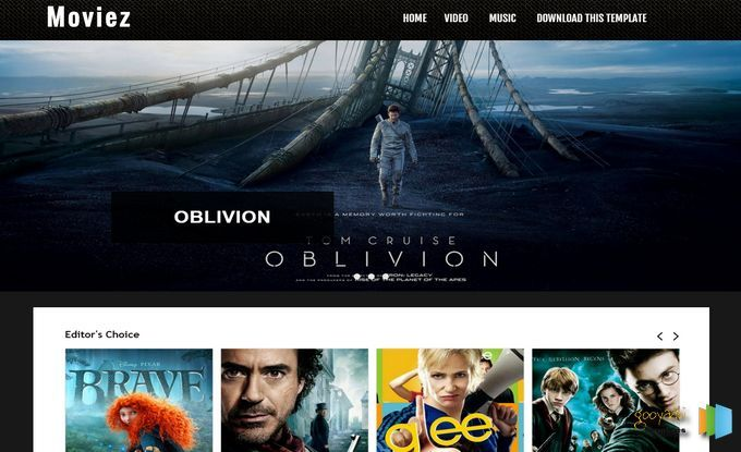 Moviez Blogger Template Templates Zoom Blogger Templates Gratis Filmes Cinema Entretenimento