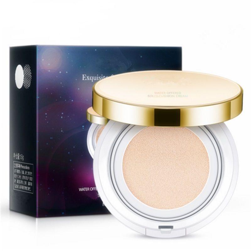 Flawless Makeup Air Cushion Bb Cream Moisturizing Natural Tone