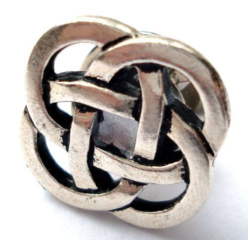 Celtic Knot Lapel Pin QCG. $21.50. Beautiful Gift Box Included. Quick Processing and Shipping. Responsive Communication. Tracking Included. Guaranteed 100%. Save 57%!