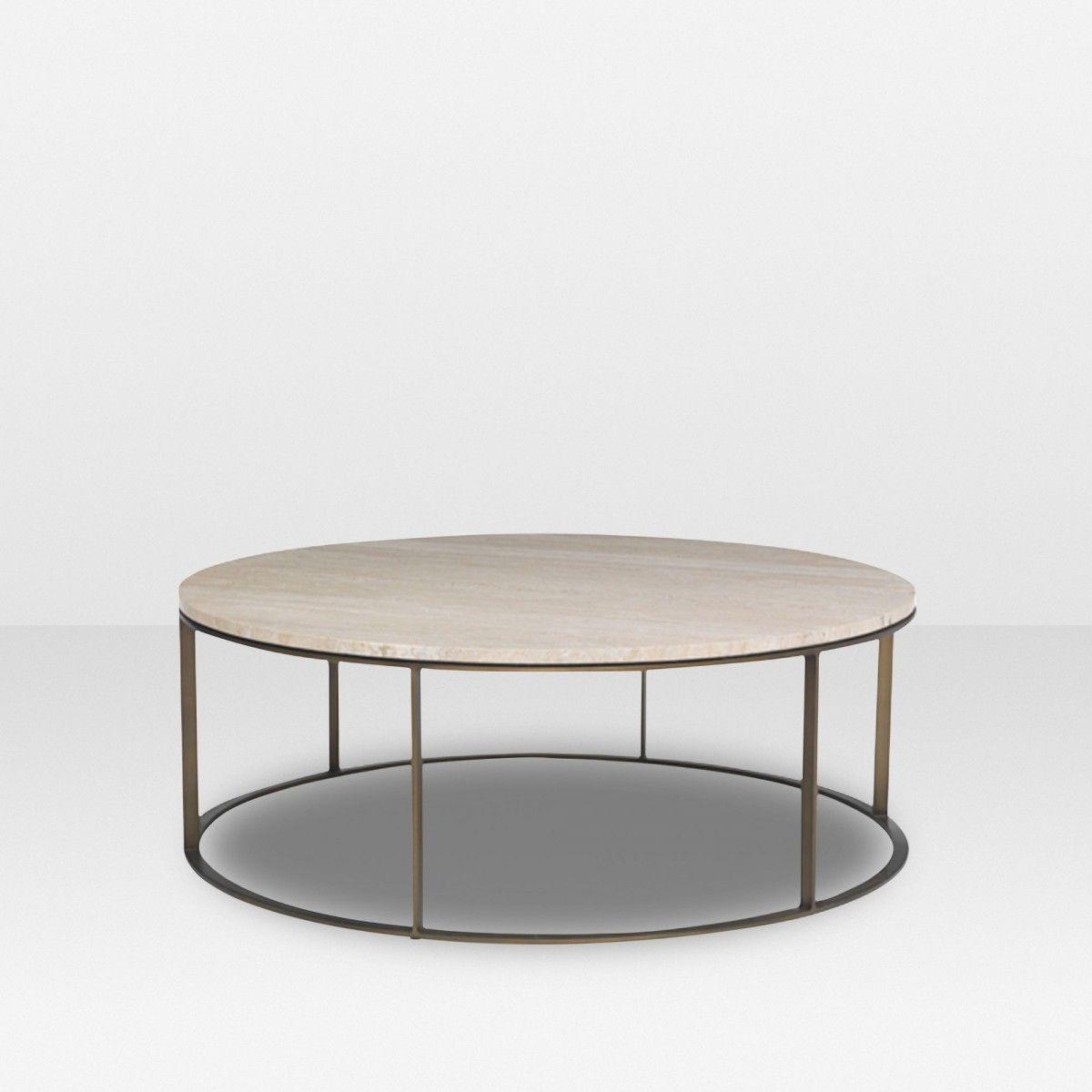Mitchell Gold Bob Williams Allure Round coffee table ELTE