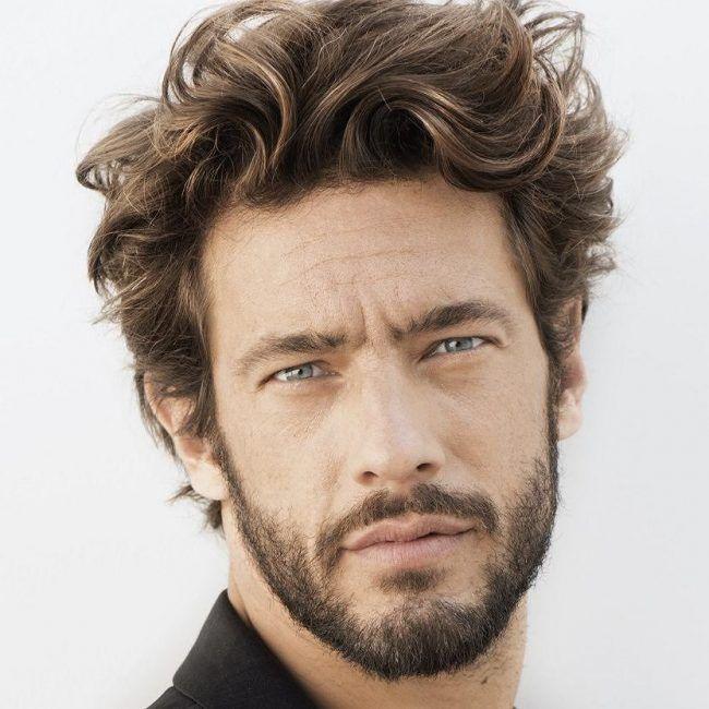 Hairstyles For Thick Hair Men Fine Textured Short Beard  Favorite Style  Pinterest  Short Beard