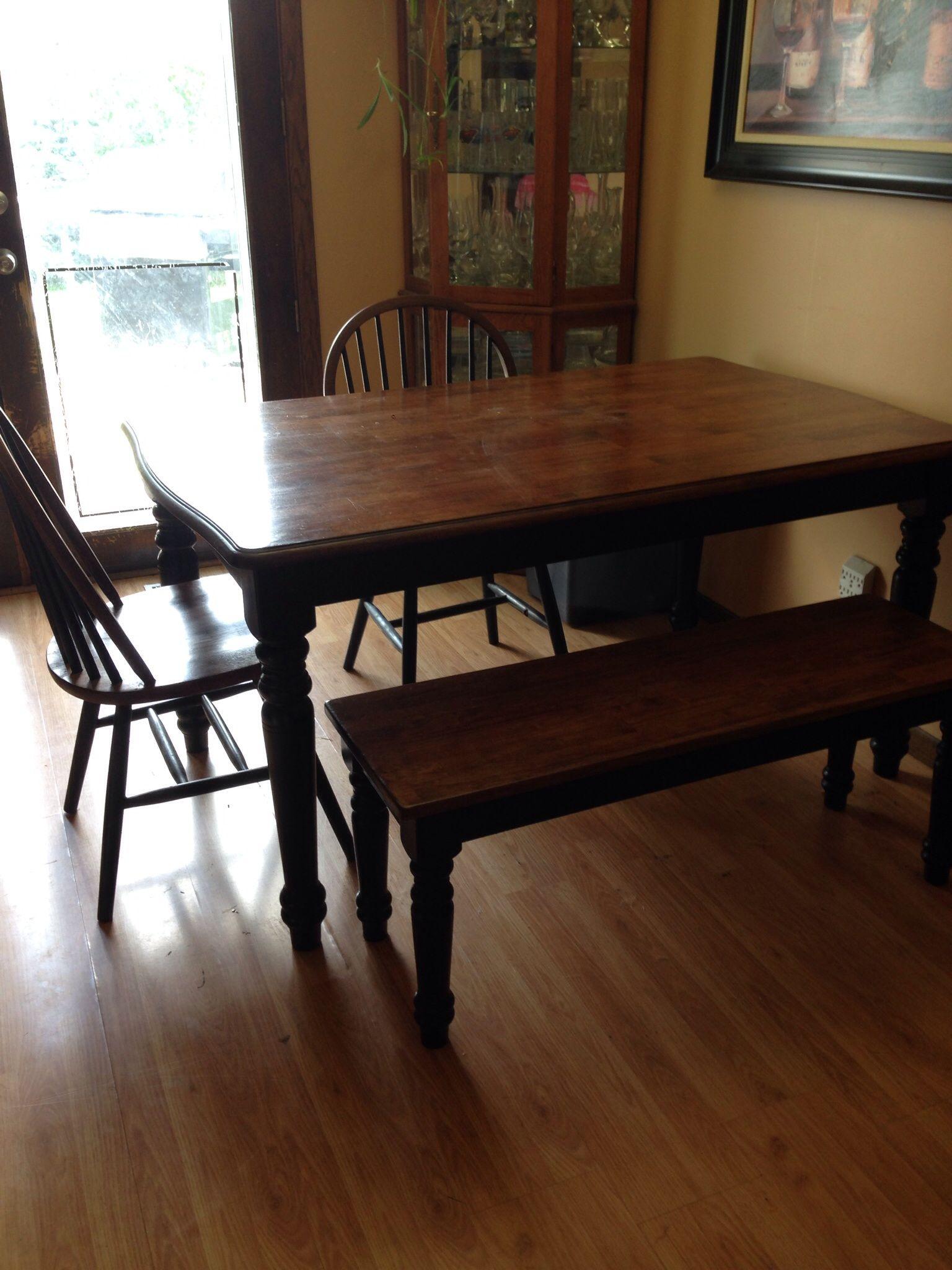 Kitchen Table With Bench In Natalierose S Garage Sale Rosemount