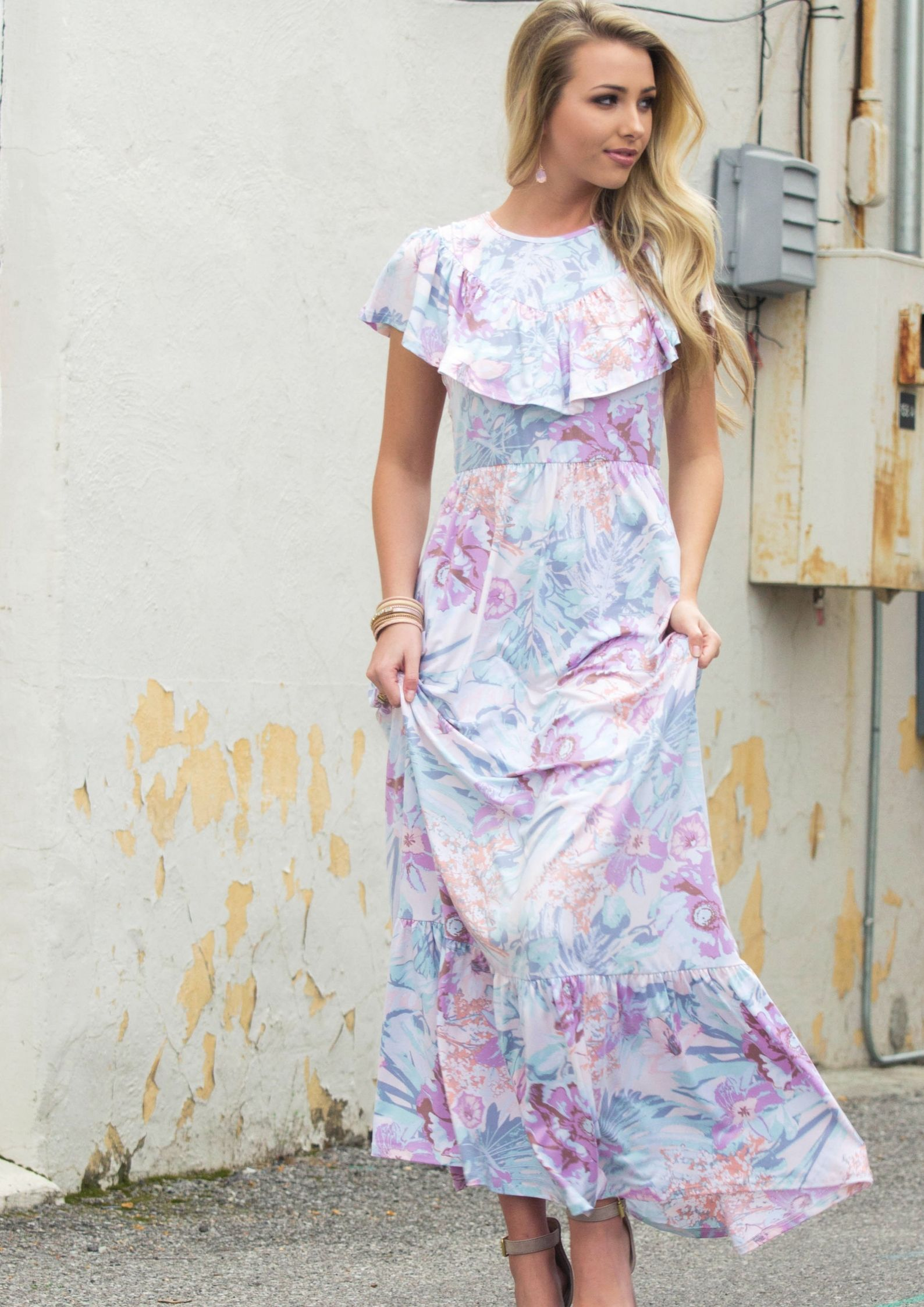 Maxi dresses to wear to a wedding  What To Wear To a Spring Wedding  Siloe Style Blog  Pinterest