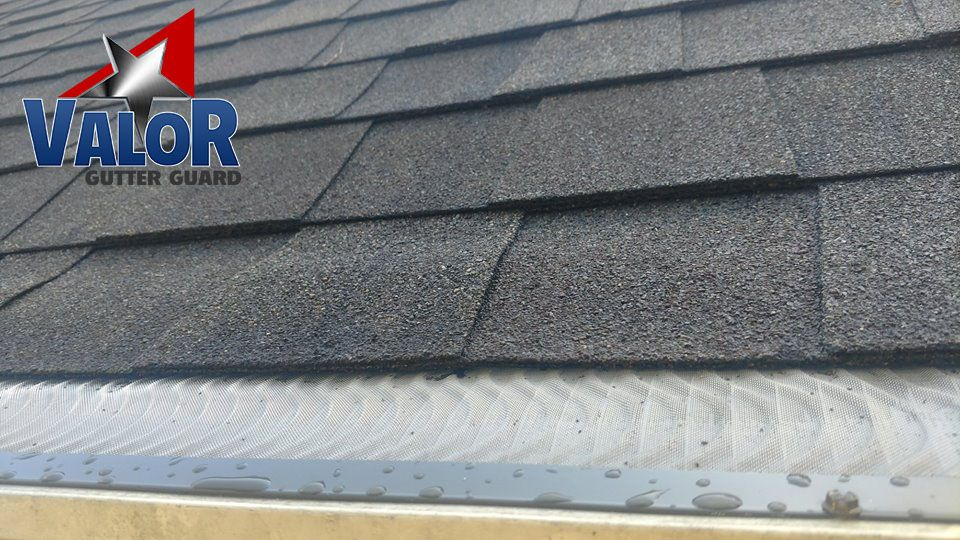 Valor Gutter Guards Are Most Commonly Installed On Composition Roofs Across America But They Can Be Installed On All Roof Types Gutter Guard Gutters Gutter
