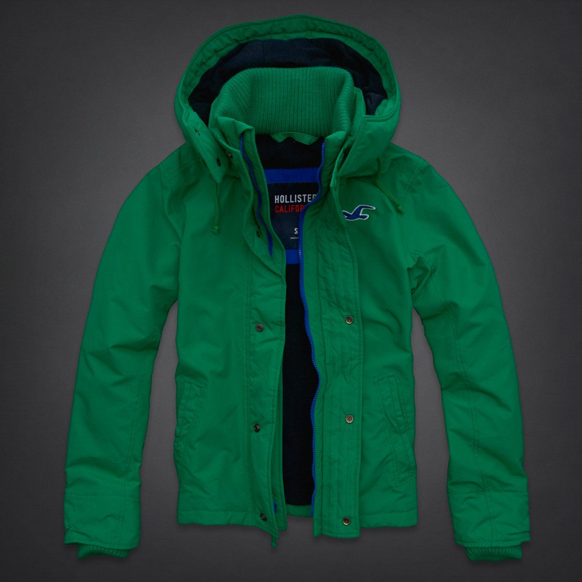 Hollisterco Com Jackets All Weather Jackets Outerwear Jackets [ 1200 x 1200 Pixel ]