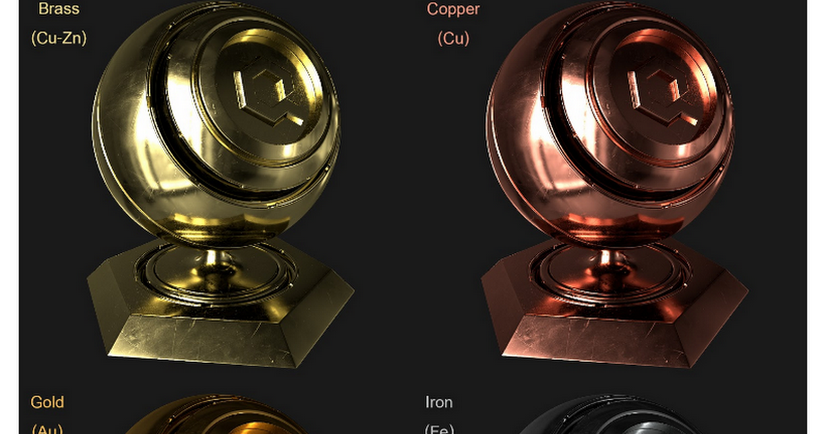 Metallic Specular Reference (WIP)    This is a list of all my known measured metallic specular values and specular brightnesses from various sources. Note that accurate metal values are equally important in both the specular and metalness based workflows. These values are NOT subjective. Metals ...