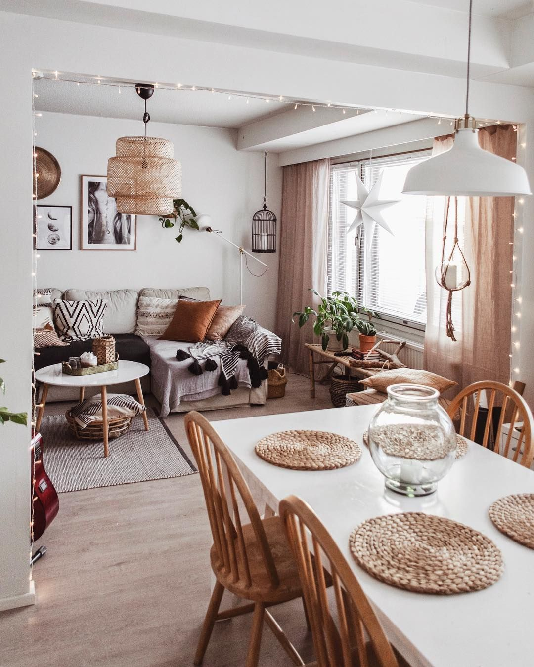 "modernboho | scandihome on Instagram: ""Grey and rainy day here in Finland!"