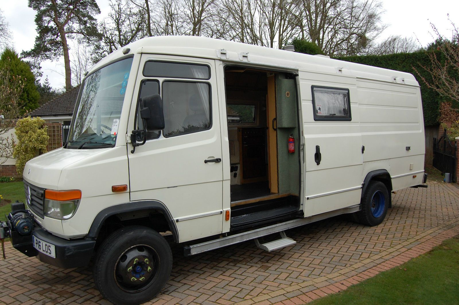 Mercedes Benz Vario 814D LWB Expedition Overland Camper Van Motorhome Race  Truck In Cars, Motorcycles