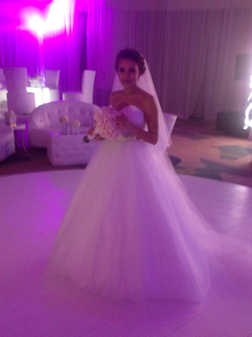 white silk tulle dress By Yoyo Barrientos | Vestidos de novia ...