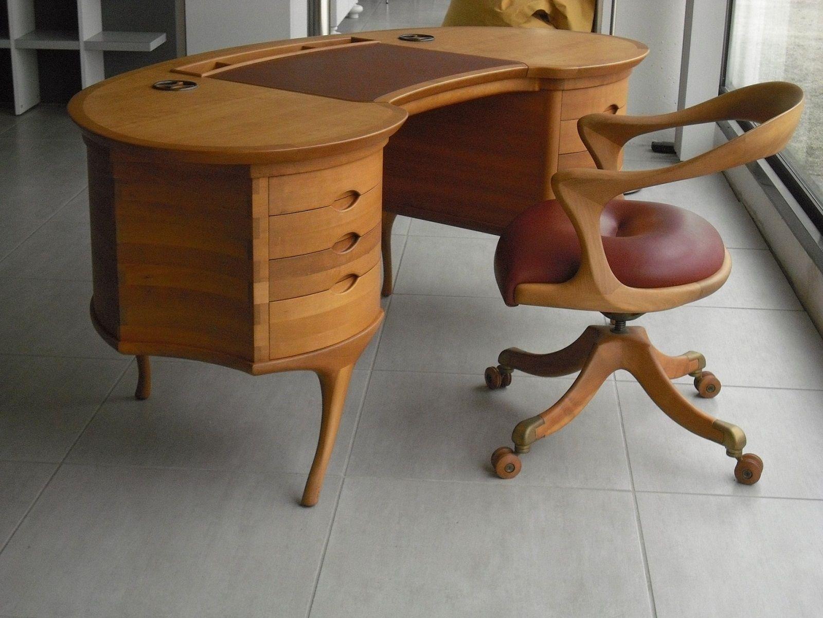 CECCOTTI scrivania BEAN poltrona MARLOWE - 意大利風格的桌椅