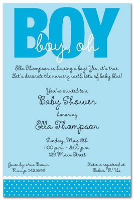 Baby Shower Messages For Boy : shower, messages, Wedding+invitations+and+baby+shower+invitations+share+boy+b…, Shower, Invitations, Boys,, Surprise, Invitation,, Invitation, Wording