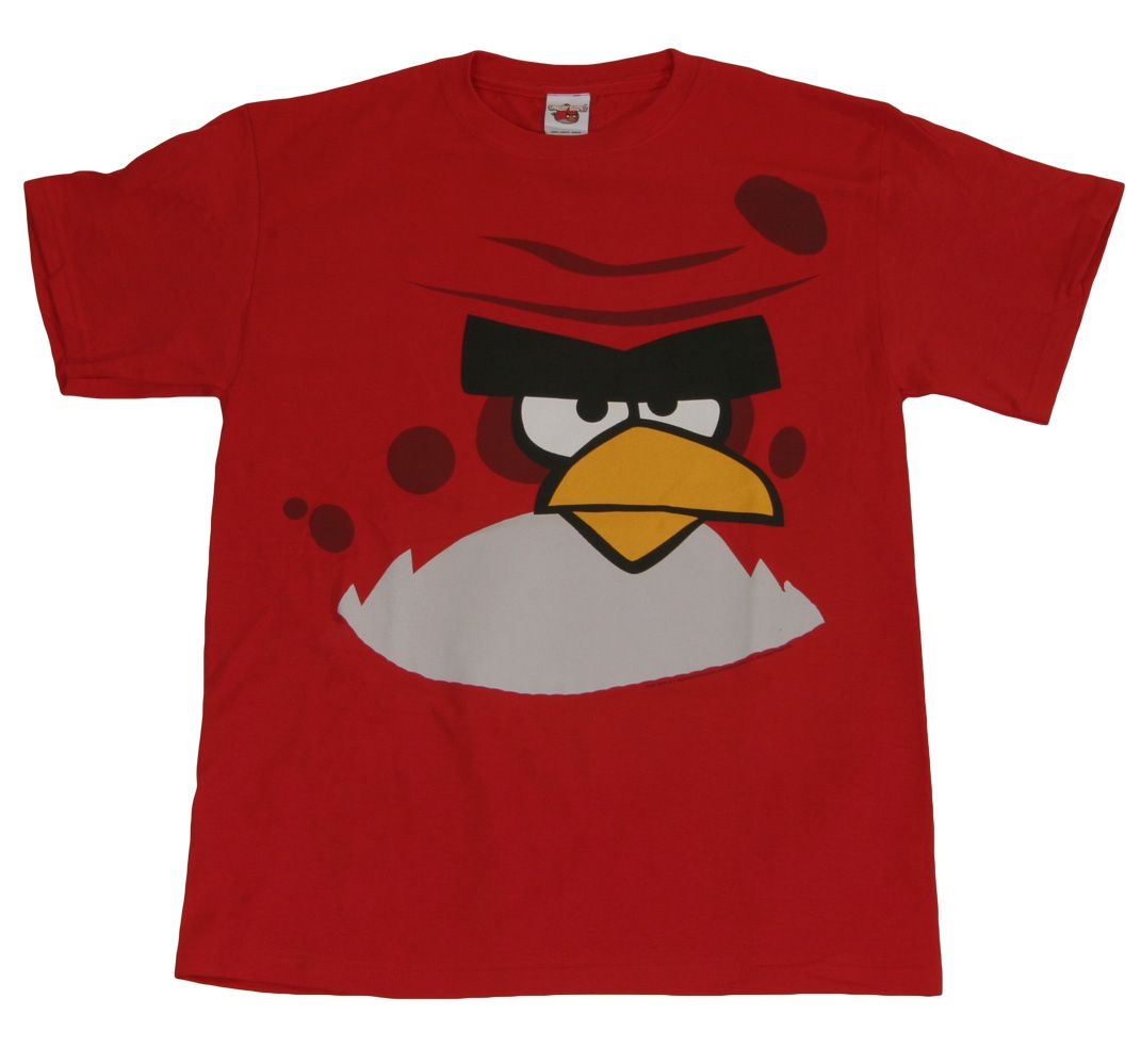 Angry Birds Terence T-Shirt! | Angry Birds | Angry birds, Video game