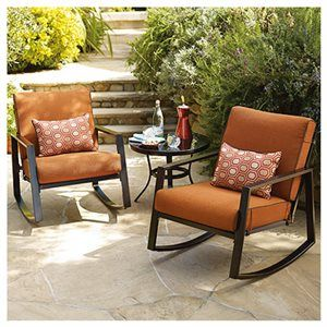 Courtyard Creations Belle Garden Collection Patio Chat Set, 3 Pc.: Model#
