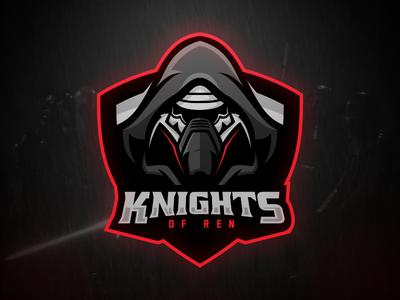 Knights of Ren Knights of ren, Game logo design, Cool logo