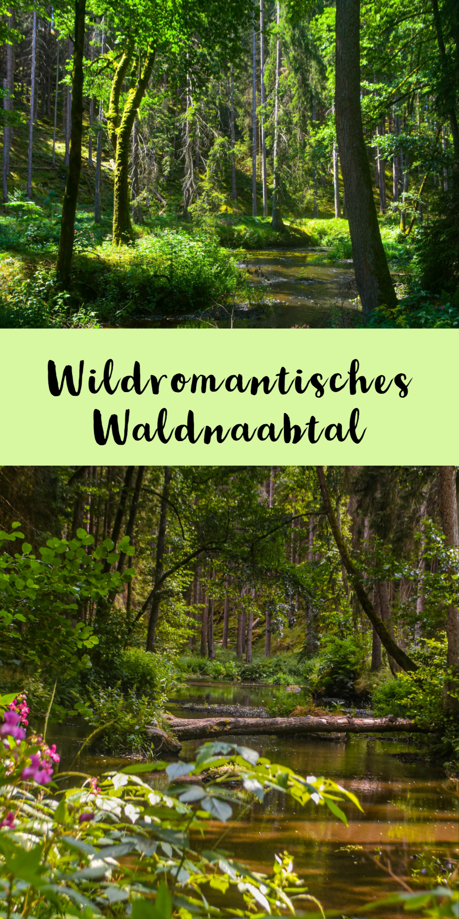 Wandern durch das Waldnaabtal in Bayern