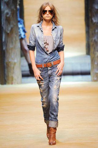 Dolce & Gabbana Denim Look